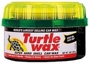 Turtle Wax Super Hard Shell Paste Wax (14 Oz.)