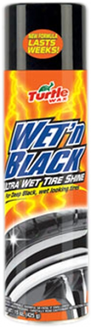Turtle-dove Wax Wet 'n Black Ultraist Wet Tire Shine (14.5 Oz.)