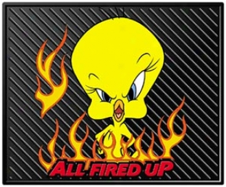 Tweety ''all Fired Up'' Utility Mat