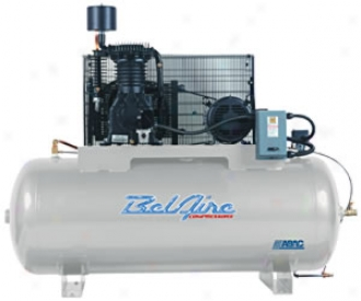 Two-stage Air Compressor - 10hp, 120 Gaallon Horizontal