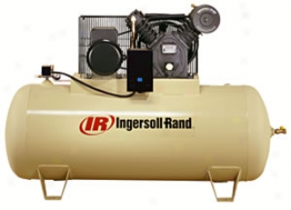 Type-30 Electric-driven Air Compressor - 5hp, 80gal Horizonal