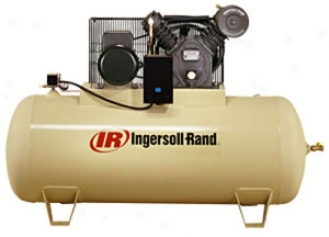 Type-30 Electric-driven Air Compressor - 5hp, 80gal Horizontal - Full Packaged