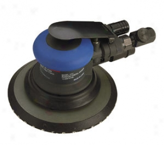 Ultra Duty Vacuum-eady Air Random Orbit Sander - 6'' Pad