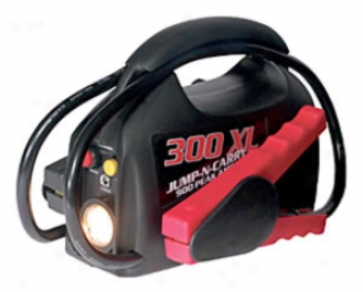 Ultra-portable Rechargeable Jump Starter With Flashlight