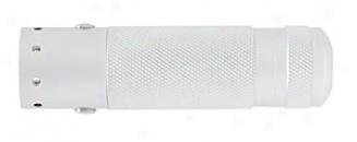 V2 Dual Color Led Flashligyt - White And Red Leds