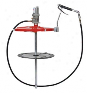 Relative length Series 40:1 Single-acting Grease Pump For 120 Lb. Drums