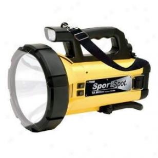 Vector 10m Candlepower Sport Spot Cordless/rechargeable Spotlight