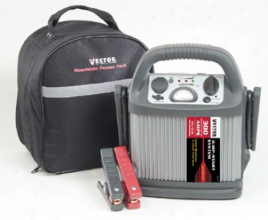 Vector Roadside Host Compress Kit Compact Jumpstarter/inflator