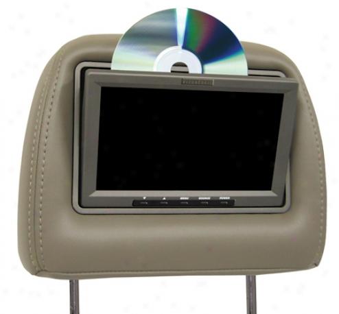 Vizualogic A-1150 7 Inch Dual Headeest Monitors With Singlw Dvd Player Kit