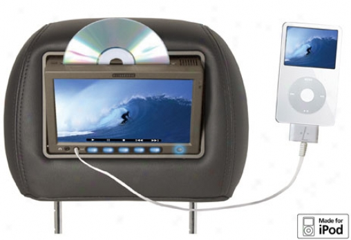 Vizualogic A-1250 7'' Single/dual Dvd System