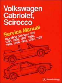 Volkswagen Cabriolet, Scirocco 1985-1993