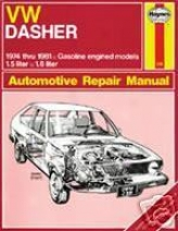 Volkswagen Dasher Haynes Repair Of the hand (1974-1981)