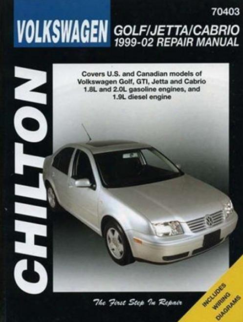 Volkswagen Golf/jetta/cabrio (1999-20O2) Cjilton Manual