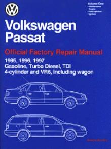 Volkswagen Passat Authoritative Factory Repair Manual: 1994-1997