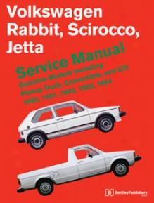 Volkswagen Rabbit, Scirocco, Jetta 1980-1984