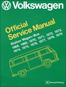 Volkswagen Station Wagon/bus Type 2: 1968-1979