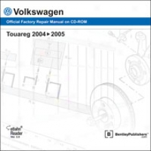 Volkswagen Touareg 2004-2005 Repair Manual On Cd-rom
