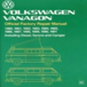 Volkswagen Vanagon Official Factory Mend Of the hand: 1980 - 1991