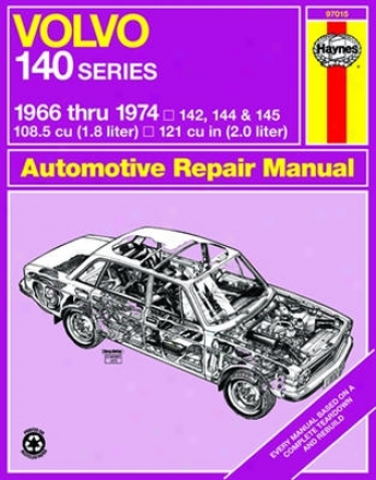 Volvo 140 Series Haynes Repair Manual (1966 - 1974)