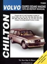 Volvo Coupes/sedans/wagons (1970-89) Chilton Manual