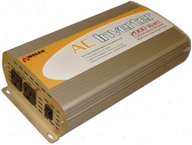 Wagan 2000 Watt Continuous Susceptibility Inverter