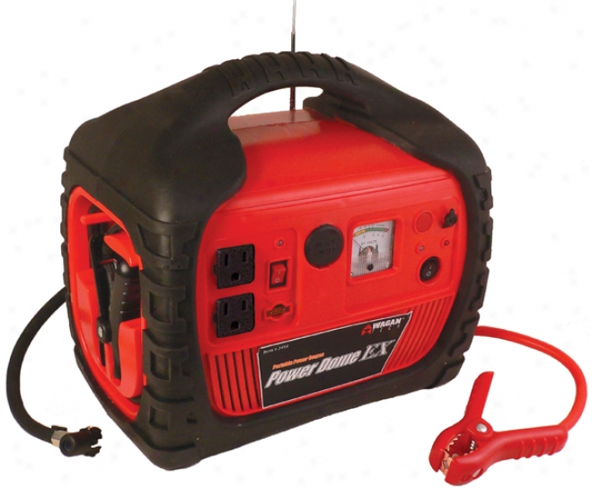 Wagan 400/600 Watt Host Dome Ex With Built-in Air Compressor