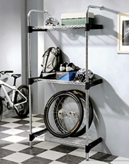 Wall Mount 3 Shelf Rack System