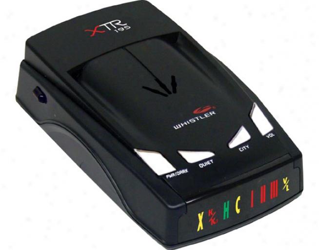 Whistler Xtr-195 Las3r-radar Detector