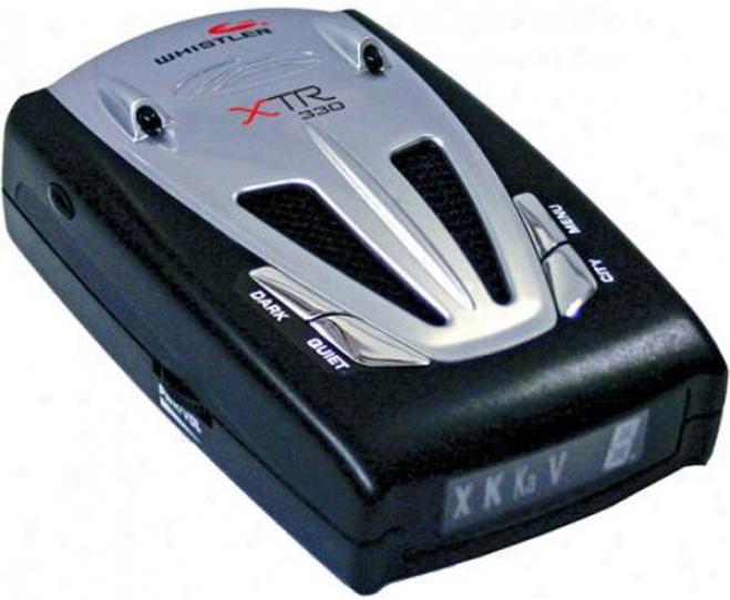 Whistler Xtr-330 Laser-radar Detector