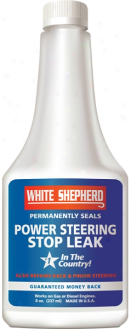 White Shepherd Power Steering Stop Leak (8 Oz.)
