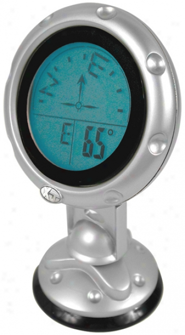 Windshield/dashboard Mounted Digital Compass