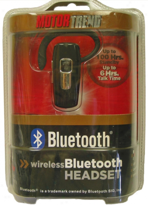 Wireless Bluetooth? Headset (6 Hours Talk Time)