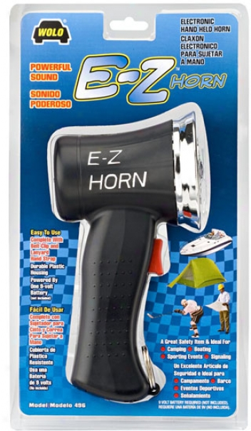 Wolo E-z Electronic Hand-held Horn
