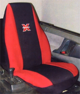 X-gear Neoprene Red Universal Bucket Seat Cover