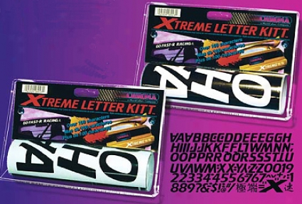 Xtreme Black Letter Kitt