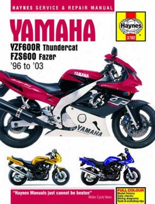 Yamaha Yzf600r And Fzs600 Haynes Repair Manual (1996 - 2003)