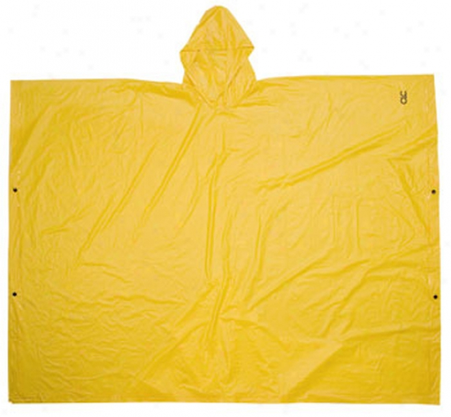 Yellow .10mm Pvc Poncho
