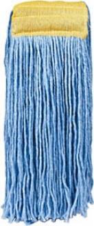 Zinger 16 Oz Heavy Duty Blue Cut-end Wide Band Floor Mop