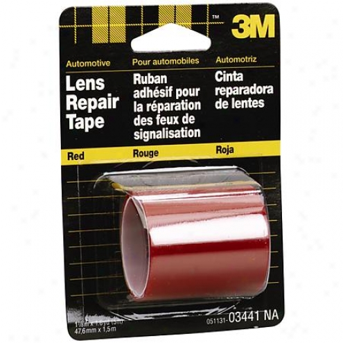 3m Lens Repair Tape: Red; 1.8755 In. X 60 In. - 03441na