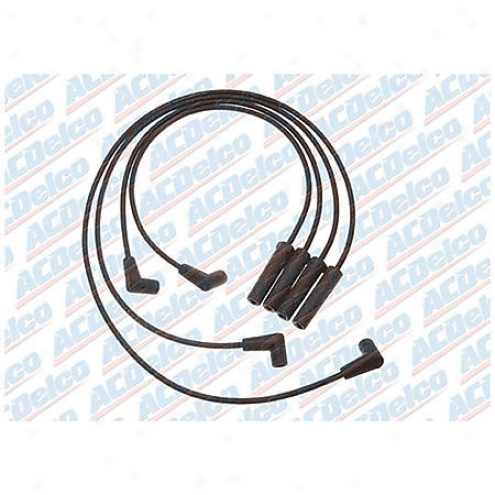 Acdelco Spark Plug Wires - Standard - 704h