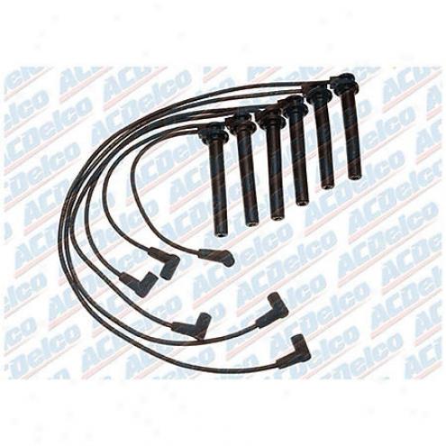 Acdelco Sparkle Plug Wires - Standard - 726hh