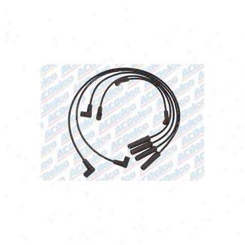 Acdelco Spark Plug Wires - Standarrd - 9714e