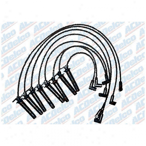 Acdelco Spark Plug Wires - Standard - 9748j