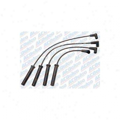 Acdelco Spark Plug Wires - Standard - 9764b