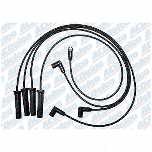 Acdelco Spark Plug Wires - Standard - 9764t
