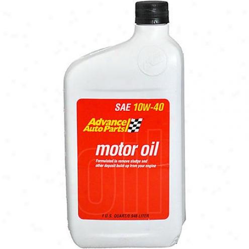 Advance Auto Parts 10w-40 Conventional Motor Oil - 10w40qt /a109