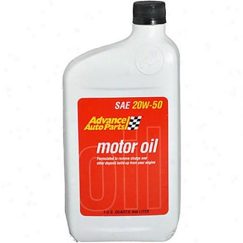 Advance Auto Parts 20w-50 Conventional Motor Oil (1 Qt.) - 20w50qt /a112