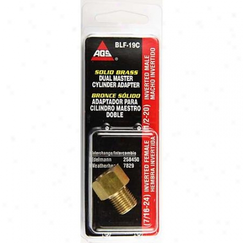 American Grease Stick Co. Brass Adapter - Blf-19c