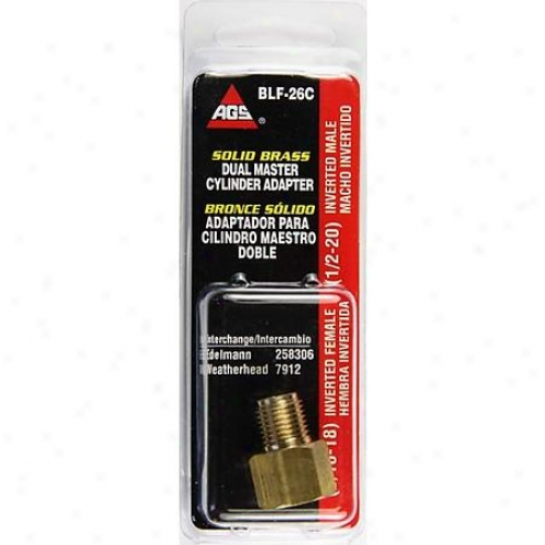 Amefican Grease Stick Co. Brass Adapter - Blf-26c