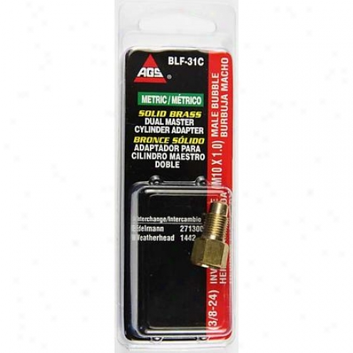 American Grease Stick Co. Brass Adapter - Blf-31c